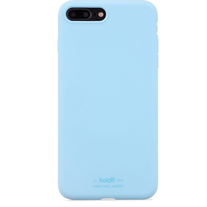 Handyhülle Silicone Light Blue Holdit DE