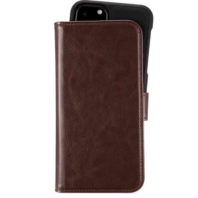 WalletCase Mag iPh 12/12Pro Berlin Dark Brown